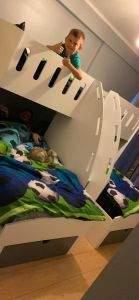 kids triple bunk uk