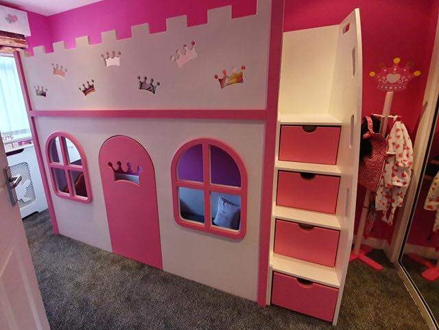 kids playhouse bed