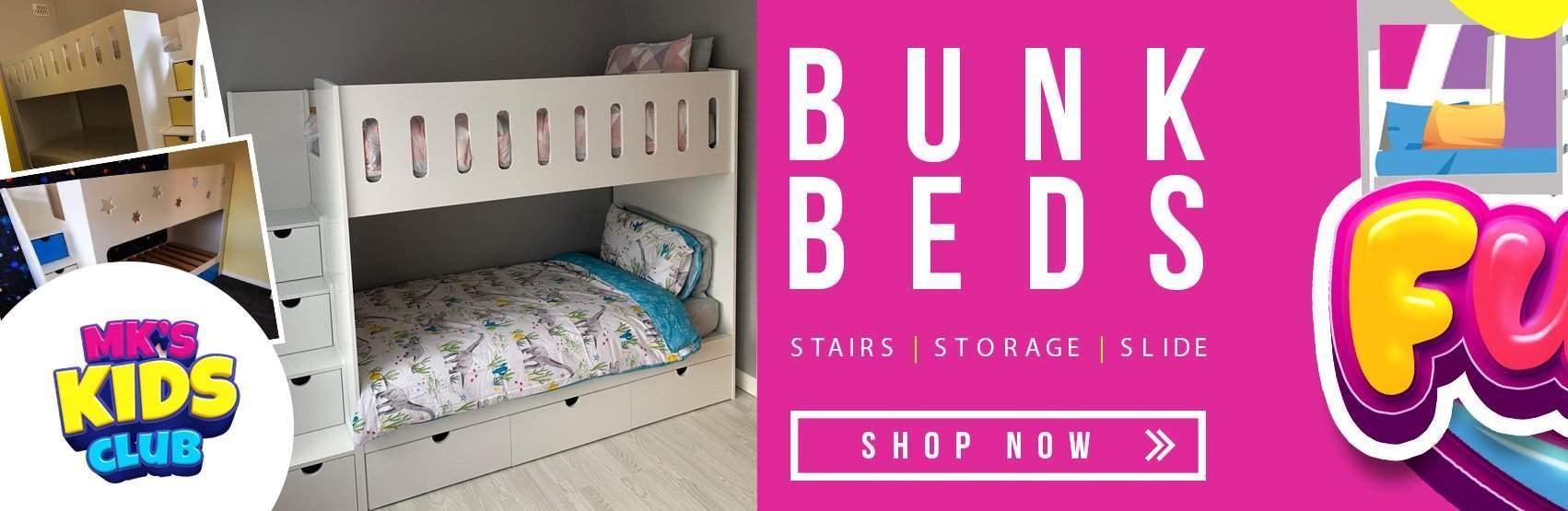 bunk bed slider
